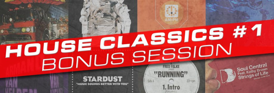 CARPE DIEMS podcast by SYLVAIN DIEMS # 25 – House Classics BONUS SESSION